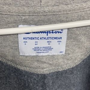 Champion zip up